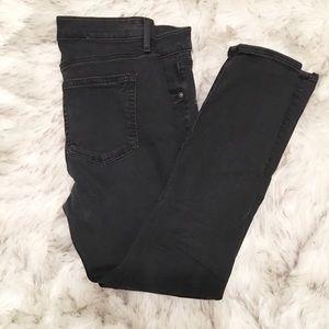 LOFT Black Modern Skinny Jeans 28P / 8 Petite